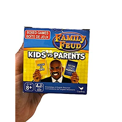 Cardinal Family Feud Parents Vs Kids Edition Game (New Version): Toys & Games