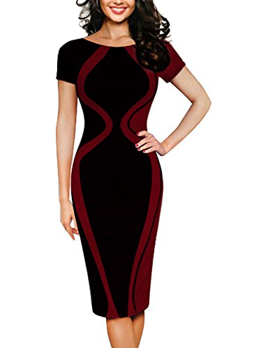 Zipper Sheath Dress - 2