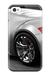 Defender Case For Iphone 4/4s, Audi Sport Silver Car Free Desktop Cars Audi Pattern
