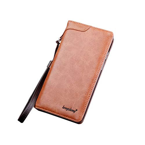 Wallet For Men,PAQOZ Casual Multi-function Clutch Bag Card Package Multi-card Holder