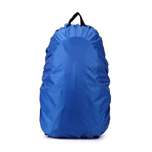Price comparison product image 80L Waterproof Backpack with Free Rain Cover (Blue)