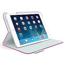 Logitech Folio Protective Case for iPad mini, iPad mini with Retina Display, Fantasy Pink (939-000878)