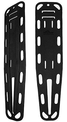Iron Duck 35900-Black Ultra Loc Spinal Immobilization Backboard ()