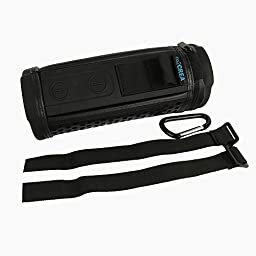 co2CREA Carry Case Bag for Logitech UE Megaboom Portable Wireless Bluetooth Speaker (Functional Case)