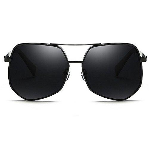 Lunettes Classique Black Carrés Couleur Soleil Yxsd Hommes de Black Métal Extérieur Shades Lunettes Femmes SunglassesMAN Fashion W4SXRqn
