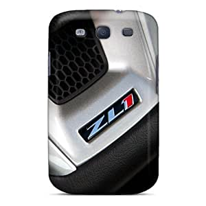 Scratch Resistant Hard Cell-phone Cases For Samsung Galaxy S3 (VOM1388QOQx) Customized Attractive Chevrolet Camaro Zl1 Series