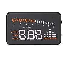 """MagiDeal 3"""" Multicolor Screen X5 Car HUD Head up Display OBD II Speed Warning Monitor"""