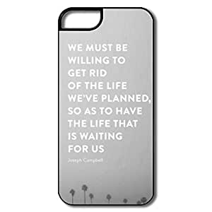 Alice7 Life Waiting US Case For Iphone 5,Heart Iphone 5 Case