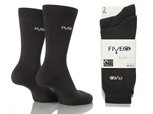 Rich Dress Pack Business Coloured Cotton Mens Grey Socks Plain Soft FiveG 6 Thin zwn8T
