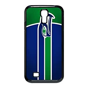 JIUBIE Custom Cover NFL Seattle Seahawks Logo for Samsung Galaxy S4 I9500 Hard Plastic Case