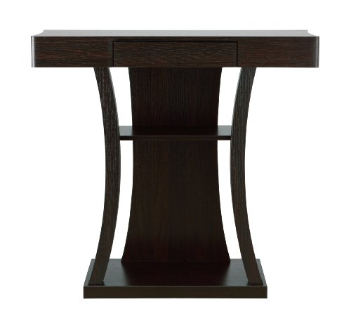ioHOMES Kelvin Console Table with Storage Drawer, Cappuccino Finish Review