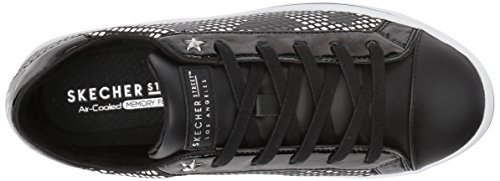 Skechers Women's Hi-Lite-Mirrored Star Fashion Sneaker Black/Silver cheap sale 2014 newest free shipping newest latest cheap online extremely online laffS