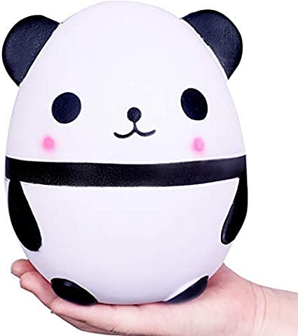 WeYingLe Squishy Panda Jumbo Juguete Blando Perfumado con Crema Juguete para niños y Adultos Bonito Juguete antiestrés Panda Grande (Blanco) (Blanco): Amazon.es: Juguetes y juegos