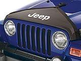 #10: Jeep Wrangler 2007-2014 Front Hood Cover T Style W/Logo Mopar OEM