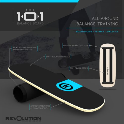 Revolution 101 Balance Board Trainer (Blue) by Revolution Balance Boards (Image #3)
