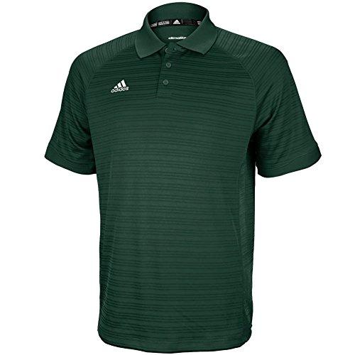 adidas Men's COLGR ADISELECT Polo Size L Green