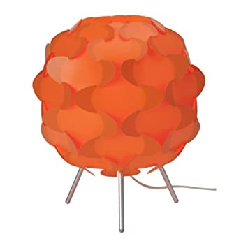 Ikea fillsta - Lámpara de mesa naranja: Amazon.es: Iluminación