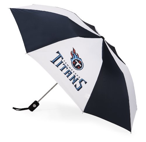 NFL Tennessee Titans Auto Folding Umbrella