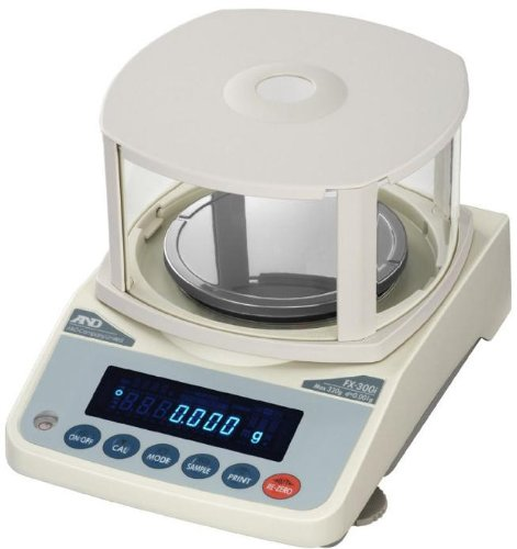 A&D FX-120i Precision Lab Balance 122 gx 0.001 g (1mg) with Draft shield,RS232,New by AND Weighing
