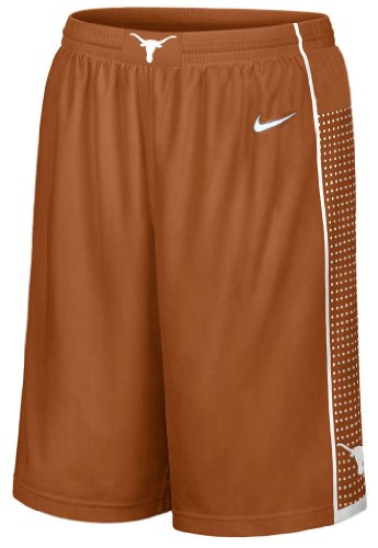 Texas Longhorns 2013 Burnt Orange 12 Inseam Embroidered Player Basketball Short By Nike (L=37-38) (Longhorns Texas Shorts)