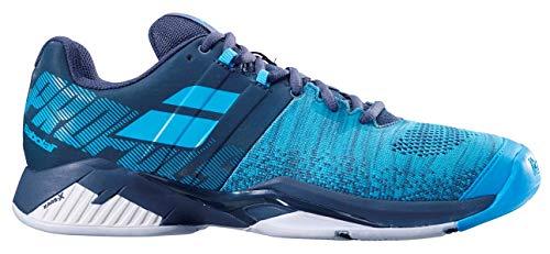 Babolat Propulse Blast All Court Mens Tennis Shoe - Grey/Blue - Size 11.5