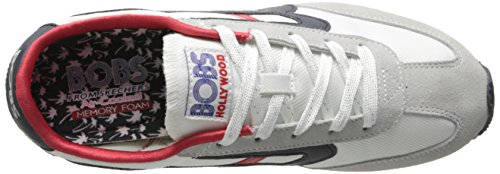 BOBS Sunset Skechers White Fashion Sneaker from Women's xHwqwTPF