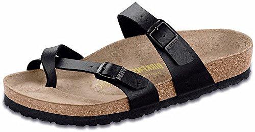 Birkenstock Women's Mayari Sandal,Black Birko-flor,38 EU/7-7