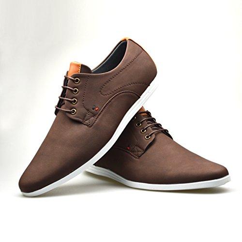 Zapatos con Marrón cordón de Robelli piel hombre para anxwaqRUZ