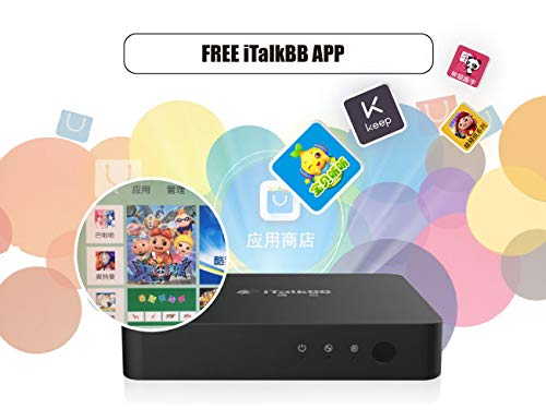 Amazon com: iTalkBB Chinese TV Box- Chinese/Taiwan/Hong Kong