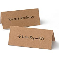 Kraft Printable Place Cards