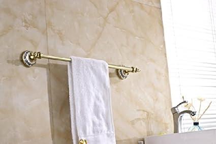 Porta Asciugamani Bagno Da Muro : Rozinsanitary design moderno colore: oro barra porta asciugamani