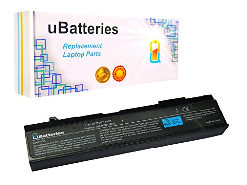 UBatteries 48Whr Laptop Battery Works with Toshiba Satellite PA3457U-1BRS PA3465U-1BRS PABAS067 PABAS069 A80-S178TD A80-06901E A85-S107 A85-S1071 A85-S1072 A100-SP471-6 Cell, 4400mAh