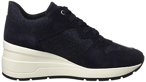 Zosma navy Bleu D Geox Femme Basses Sneakers C S5CanHxqwf