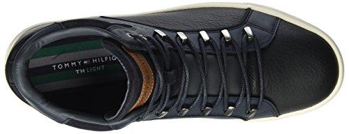 Collo Tommy Alto Hilfiger M2285oon Uomo Sneaker 3a1 Midnight a Blu qFXrq