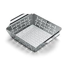 Weber 6481 Small Stainless Steel Vegetable Basket