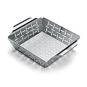 Weber 6481 Small Stainless Steel Vegetable Basket
