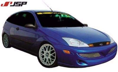 JSP Ground Effect Body Kit Side Skirts Compatible with 2000-2004 Ford Focus ZX3 ZX5 Primed S1822
