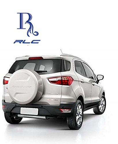 Rlc Spare Wheel Cover With Parking System For Ford Ecosport Diamond White