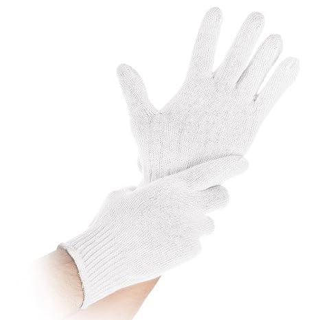 2042a73f7a458e Top-Baumwoll-Arbeitshandschuh weiß 25 cm Größe:L Franz Mensch nahtlos  Premium-Unterzieh-Handschuh
