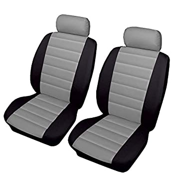 RENAULT CLIO ALL MODELS Grey Carnaby Luxury Full Set Car Seat Covers