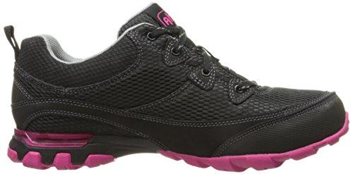 Hiking Mesh Shoe Air Sugarpine Black Pink Ahnu Women's qvCwgnT