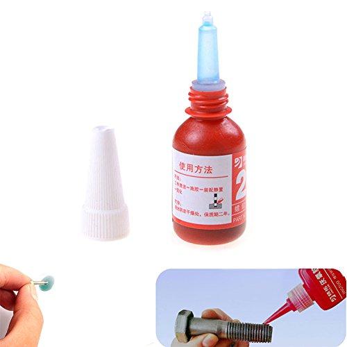 ASOSMOS 1Pc 242 Screw Glue Anaerobic Adhesive Thread Locking Glue 10ML