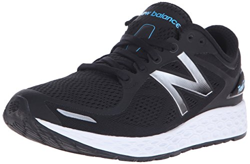 New Balance Womens Fresh Foam Zantev2 Running Shoe Black/Silver vCgvfs