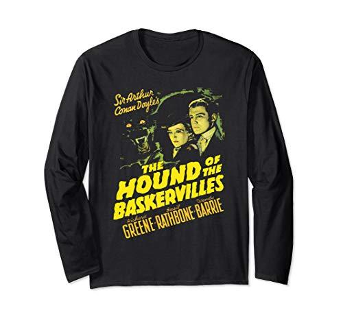 Sherlock Holmes British Consulting Detective Vintage Poster Long Sleeve T-Shirt]()