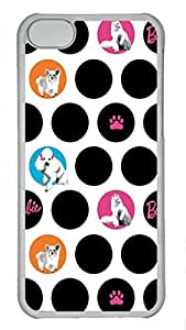 diy phone caseComfortable & Beautiful Patterns Apple ipod touch 4 Dog Paws Print And Bone Case Skin Cover,PC Black Hard Back Cover For ipod touch 4 Transparentdiy phone case