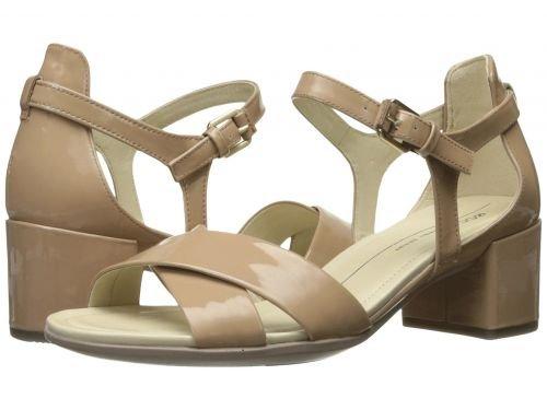 ECCO(エコー) レディース 女性用 シューズ 靴 サンダル Shape 35 Block Sandal - Ginger Patent/Cow Leather [並行輸入品]