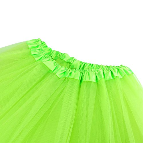 TIFENNY High Tutu Solid Dress Adult mesh Mesh Skirt Green Half Sale Waist Hot Dancing Womens Gauze Pleated OqxcETXZzw