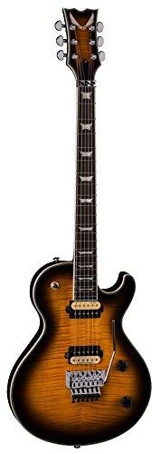 Dean DCR TB F TBZ Solid-Body Electric Guitar, Sunburst