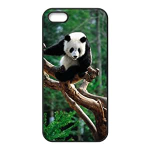 Durable Platic Case Cover for iPhone 5/5S-Panda Pattern Printed Cell Phones Shell