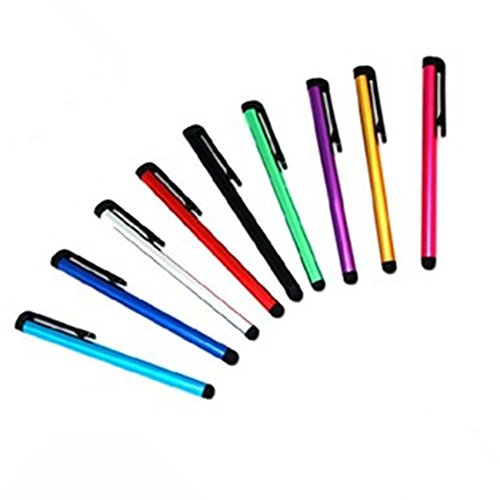 Famixyal 16 Pcs Multicolored Capacitive Stylus Pens Universal Smart Phone/Smart Tablet Stylus Pen Touch Pen PDA Styli Cell Phone Styli Stylus Stylet for Pad Phone Playbook ()